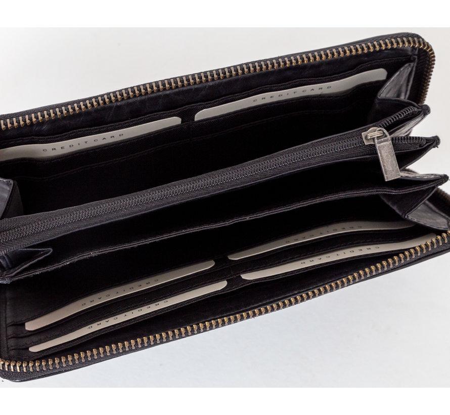 Bag2Bag Dimas Portemonnee Zwart