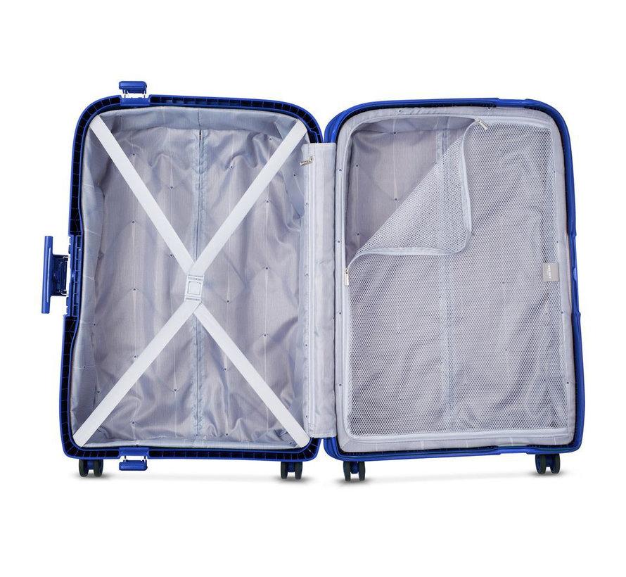 Delsey Koffer Aanbieding Moncey Medium 69 Blauw