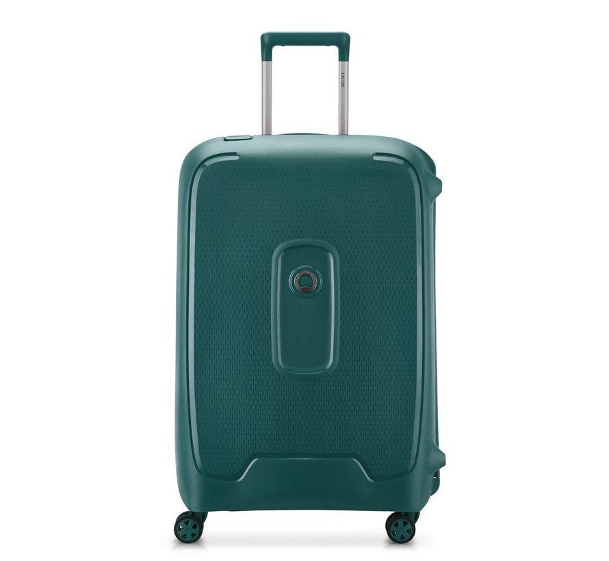 Delsey Koffer Aanbieding Moncey Medium 69 Groen