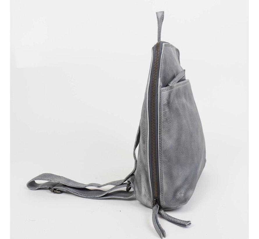 Bear Design Cow Lovato Backpack Steel Grijs