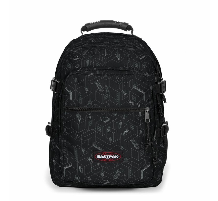 Eastpak Grote Schoolrugzak Walf Blocks Black