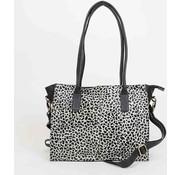 Bear Design Shopper White Dots