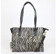Bear Design Bear Design Shopper Zebra