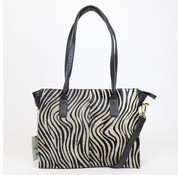 Bear Design Shopper Zebra