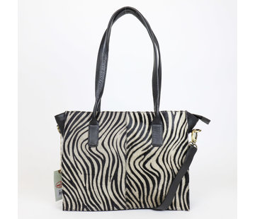 Bear Design Bear Design Shopper Zebra
