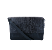 By LouLou / LouLou Essentiels Lou Lou Essentiels Crossbody Vintage Croco Zwart