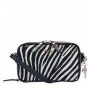 By LouLou Essentiels Boxy Crossbody Wild Zebra