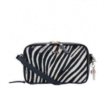 By LouLou Essentiels Boxy Crossbody Wild Zebra