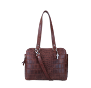 By LouLou / LouLou Essentiels Lou Lou Essentiels Handtas Vintage Croco Brown
