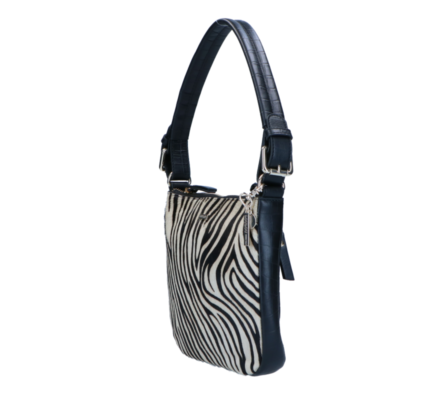 Lou Lou Essentiels Wild Bag Zebra