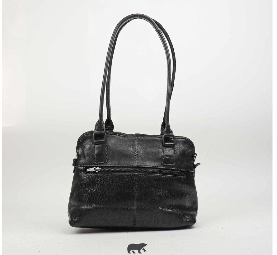 Bear Design Petra Callisto Pelle Handtas Zwart