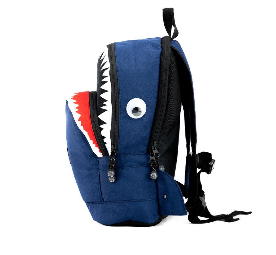 Kinder Rugzak Haai Blauw Pick & Pack Medium
