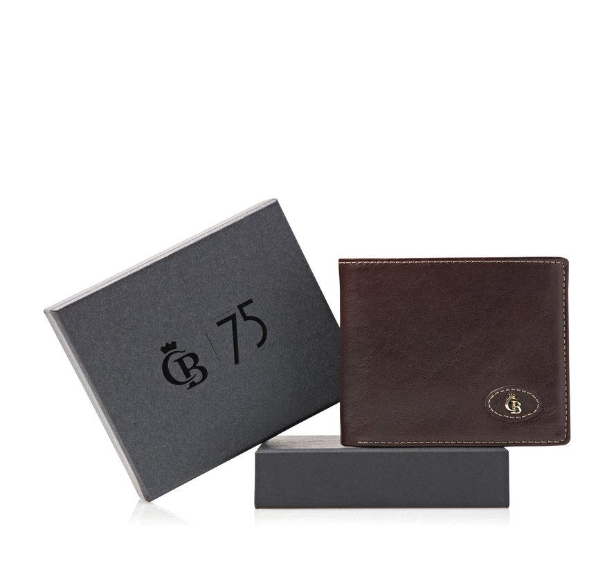 Portemonnee Giftbox Mocca