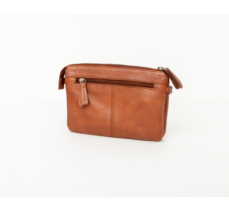 Bag2Bag Parla Clutchbag Party Collectie Cognac