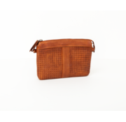 Bag2Bag Bag2Bag Parla Clutchbag Party Collectie Cognac