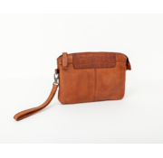 Bag2Bag Bag2Bag Mora Clutchbag Party Collectie Cognac