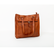 Bag2Bag Bag2Bag Parla Shopper Party Collectie Cognac