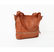 Bag2Bag Bag2Bag Merida Shopper Party Collectie Cognac
