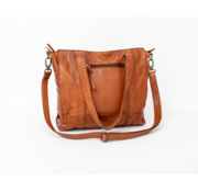 Bag2Bag Bag2Bag Elvas Shopper Party Collectie Cognac