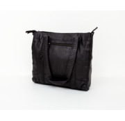 Bag2Bag Bag2Bag Elvas Shopper Party Collectie Zwart
