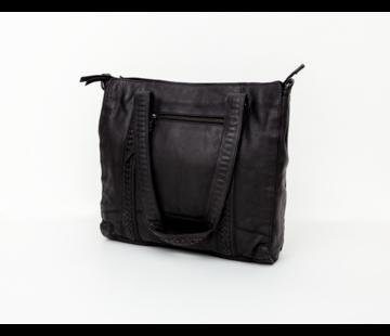 Bag2Bag Bag2Bag Elvas Shopper Party Collectie Zwart
