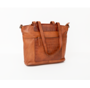 Bag2Bag Bag2Bag Mora Shopper Party Collectie Cognac