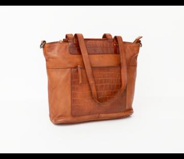 Bag2Bag Bag2Bag Mora Shopper Party Collectie Cognac