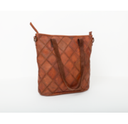 Bag2Bag Bag2Bag Madrid Shopper Party Collectie Cognac