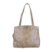 By LouLou / LouLou Essentiels Lou Lou Essentiels 90BAGXS Vintage Croco Taupe