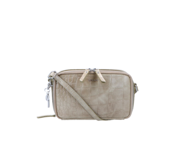 By LouLou Essentiels Boxy Crossbody Croco Taupe