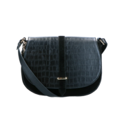 By LouLou / LouLou Essentiels LouLou Essentiels 12CROSSBODY Classy Croc Black