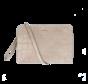 Crossbody Clutch Vintage Croco Taupe