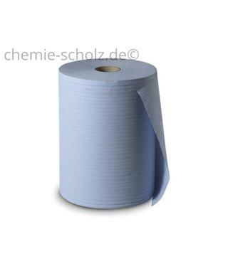 Fatzzo TT Putztuchrolle-Blau 3Lg 1000 Blatt/ Blau
