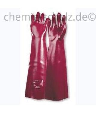 Fatzzo TT Industrie- PVC Handschuhe 1 Paar - extralang 45cm