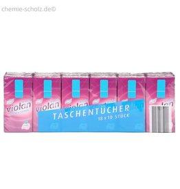 Fripa Taschentücher VIOLAN 4-lagig Weiß 300 Packungen a 10 Stück (3000)