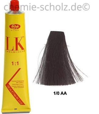 SCHOLZ COSMETIC LK-Haarfarbe 100 ml schwarz 1/0AA