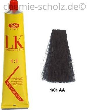 SCHOLZ COSMETIC LK-Haarfarbe 100 ml blauschwarz 1/01AA