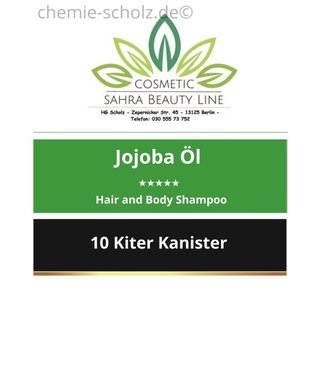 SCHOLZ COSMETIC Balsam Jojoba Öl Hair and Body Shampoo 10 Liter Kanister