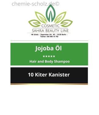 SCHOLZ COSMETIC Balsam Jojoba Öl Hair and Body Shampoo 10 Liter Kanister