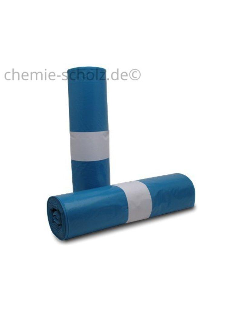 Fatzzo TT Müllbeutel 150 Liter 40 my blau 25 Stück