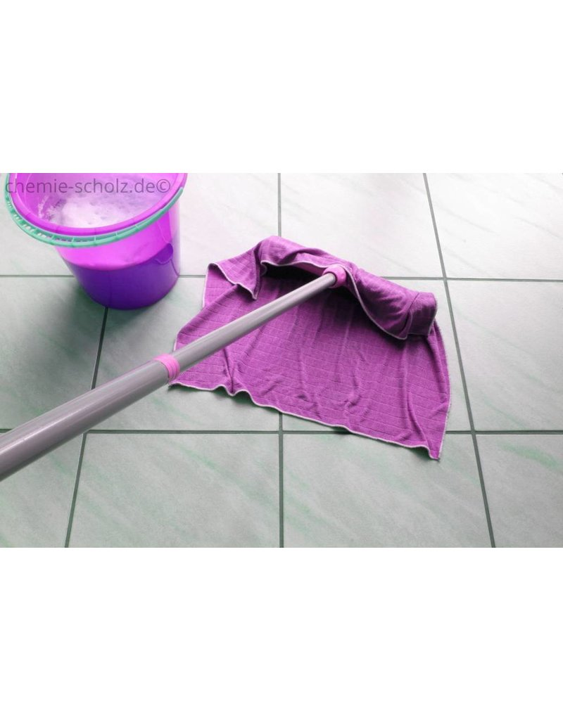 Fatzzo TT Sanitärreiniger KSL Forte 5 Liter Kanister + 1 leere Sprühflasche + 1 Toilettenbürstengarnitur mit Halterung