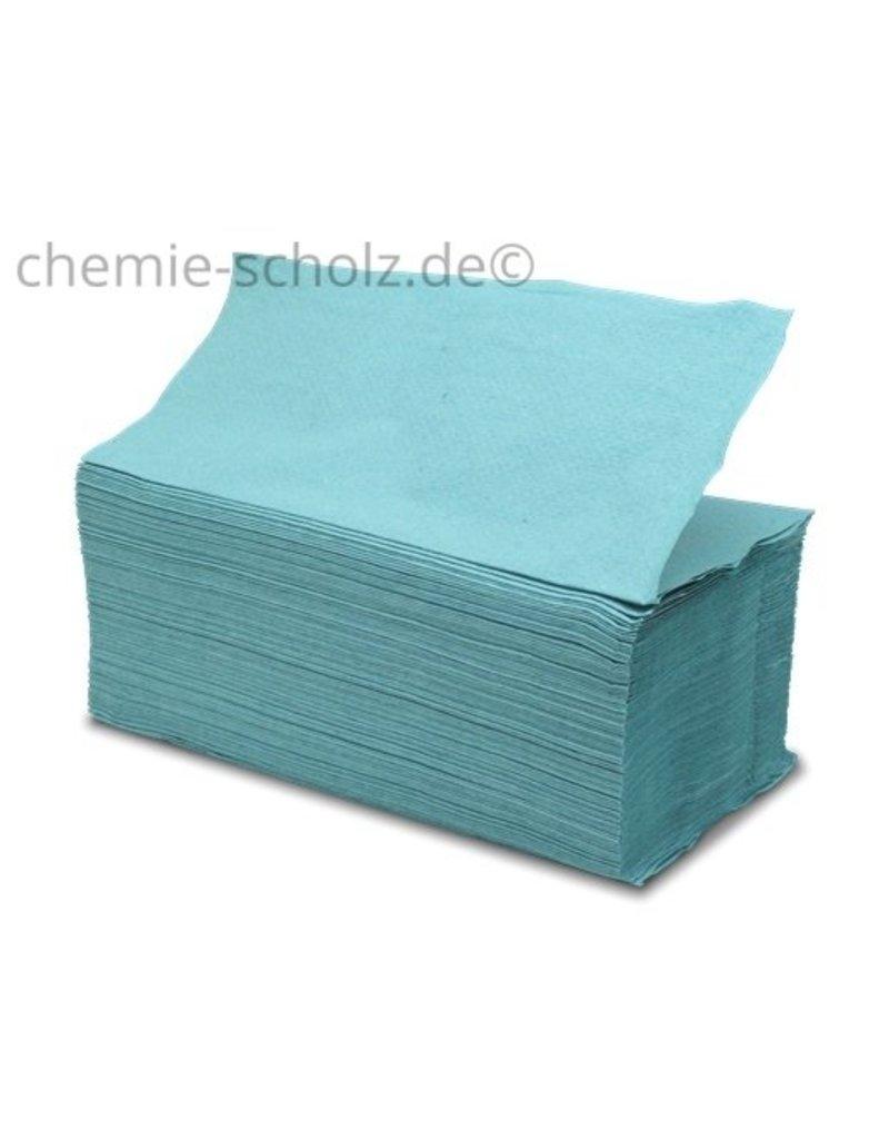Fripa Papierhandtücher 25x23cm grün 1lg 5000 Stück