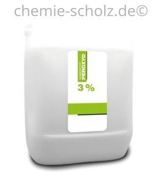 SCHOLZ COSMETIC Wasserstoffperoxyd 3% 5 Liter Kanister