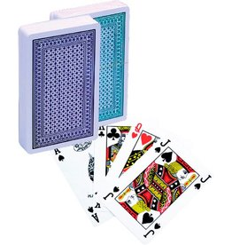 LION-GAMES Poker kaarten  100% plastic, Bridge