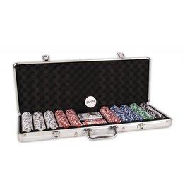BUFFALO Poker koffer aluminium 500 Chips