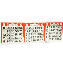 BUFFALO Bingo kaarten 1500 vel