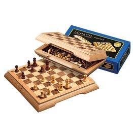 PHILOS reis schaakset magnetisch, 17mm veld