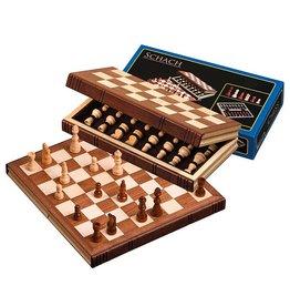 PHILOS reis schaakset hout 30x15,5 cm
