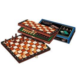 PHILOS reis schaakset magnetisch 26,5 x 13,5 cm