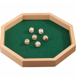 PHILOS Dice tray Octagon 28
